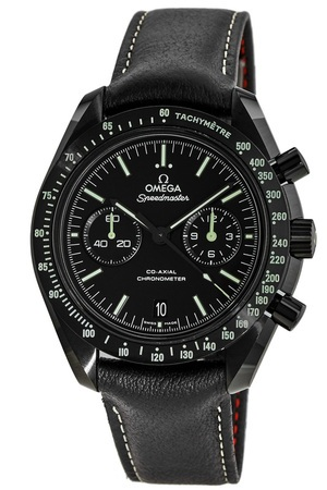 Omega Speedmaster Moonwatch Co-Axial Chronograph Dark Side Pitch Black Men's Watch 311.92.44.51.01.004