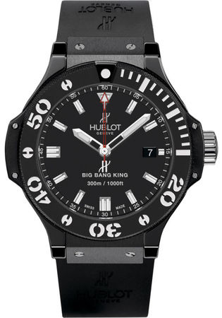 Hublot Big Bang All Black  Men's Watch 312.CM.1120.RX