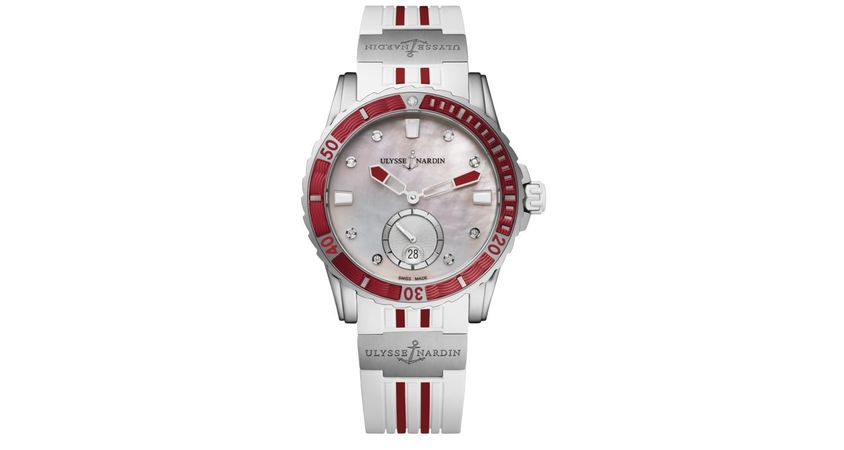 Ulysse Nardin Diver Lady  Women's Watch 3203-190-3R/10.16
