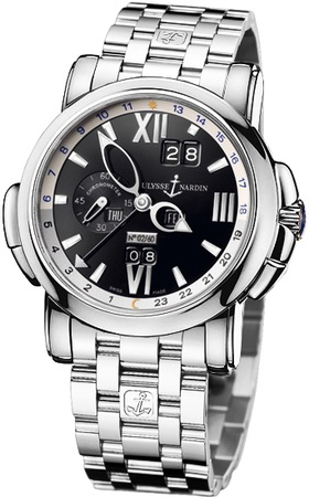 Ulysse Nardin GMT Perpetual 42mm  Men's Watch 320-60-8/32