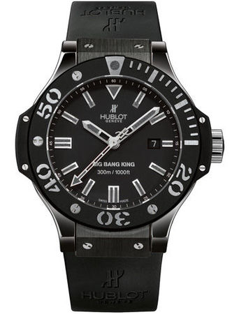 Hublot Big Bang All Black  Men's Watch 322.CK.1140.RX