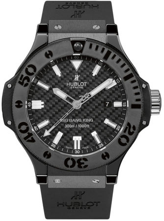 Hublot Big Bang All Black  Men's Watch 322.CM.1770.RX