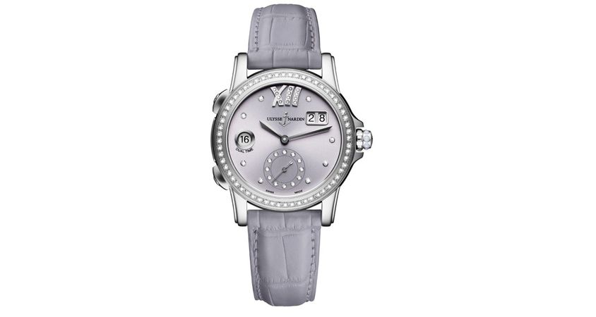 Ulysse Nardin Classic Dual Time Lady Women's Watch 3343-222B/30-07