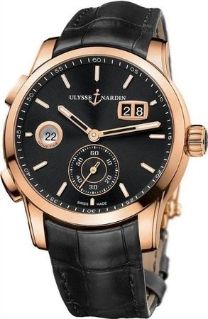 Ulysse Nardin Dual Time Manufacture 42mm  Men's Watch 3346-126/92