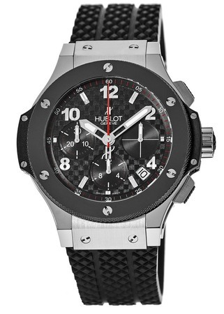 Hublot Big Bang 41mm Carbon Fiber Chronograph Dial Men's Watch 341.SB.131.RX