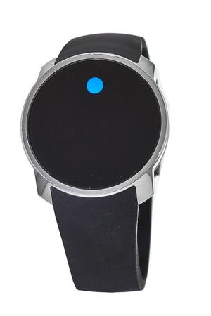 Movado Bold  Digital Touchscreen Dual-time Rubber Strap Men's Watch 3600146-PO