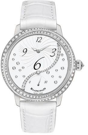 Blancpain Ladies' Collection Off Center Hour Retrograde Seconds  Women's Watch 3650A-4528-55B