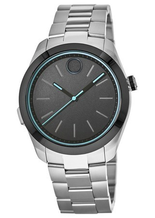 Movado Bold Motion Smartwatch with Bluetooth Connectivity 44mm Black Dial Men's Watch 3660003