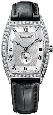Breguet Heritage Automatic 18kt White Gold Diamond Men's Watch 3661BB/12/984.DD00
