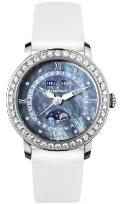 Blancpain Ladies' Collection Ladies Complete Calendar Moonphase  Women's Watch 3663-4654L-52B