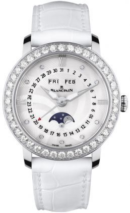 Blancpain Ladies' Collection Ladies Complete Calendar Moonphase  Women's Watch 3663A-4654-55B