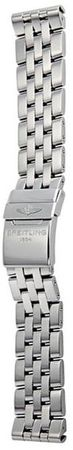 Breitling Steel 20-18mm Pilot Men's Bracelet 366A