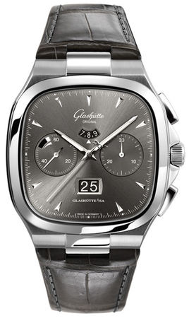 Glashutte Original 20th Century Vintage Seventies Chronograph Panorama Date  Men's Watch 37-02-01-02-30