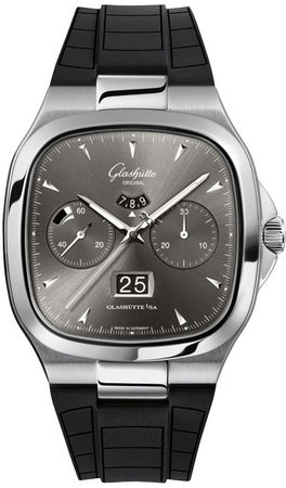 Glashutte Original 20th Century Vintage Seventies Chronograph Panorama Date  Men's Watch 37-02-01-02-33