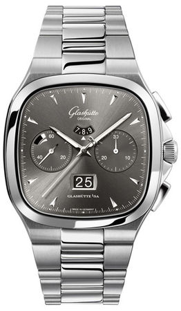 Glashutte Original 20th Century Vintage Seventies Chronograph Panorama Date  Men's Watch 37-02-01-02-70