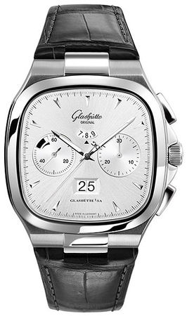 Glashutte Original 20th Century Vintage Seventies Chronograph Panorama Date  Men's Watch 37-02-02-02-30