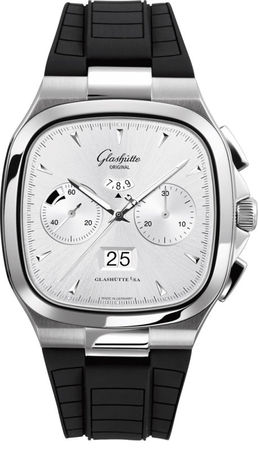 Glashutte Original 20th Century Vintage Seventies Chronograph Panorama Date  Men's Watch 37-02-02-02-33