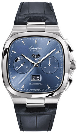 Glashutte Original 20th Century Vintage Seventies Chronograph Panorama Date  Men's Watch 37-02-03-02-30