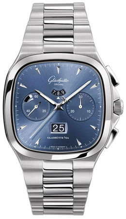Glashutte Original 20th Century Vintage Seventies Chronograph Panorama Date  Men's Watch 37-02-03-02-70