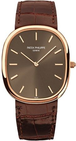 Patek Philippe Golden Ellipse  Rose Gold Men's Watch 3738/100R-001
