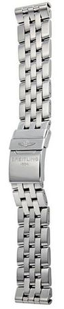 Breitling Steel 22-20mm Pilot Men's Bracelet 375A