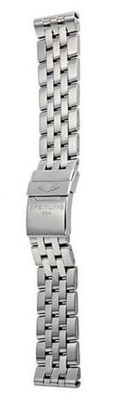 Breitling Steel 20-18mm Pilot Windrider Chronomat 41 Men's Bracelet 378A