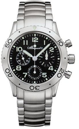 Breguet Type XX - Type XXI Automatic Chronograph  Men's Watch 3800ST/92/SW9