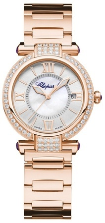 Chopard Imperiale  29 MM Automatic Rose Gold Diamond Women's Watch 384319-5004