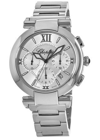 Chopard Imperiale Automatic Chronograph 40mm Mother of Pearl Women's Watch 388549-3002