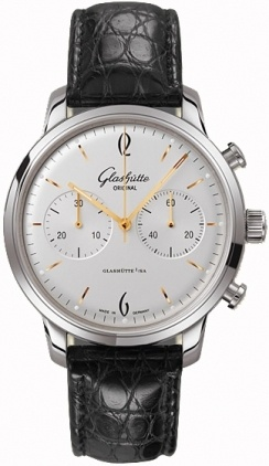 Glashutte Original 20th Century Vintage Sixties Chronograph  Men's Watch 39-34-03-22-04