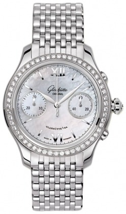 Glashutte Original Ladies Collection Lady Serenade Chronograph  Women's Watch 39-34-12-12-14