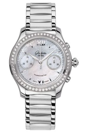 Glashutte Original Ladies Collection Lady Serenade Chronograph  Women's Watch 39-34-12-12-34