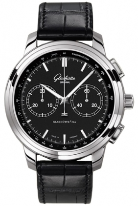Glashutte Original Quintessentials Senator Chronograph XL  Men's Watch 39-34-20-42-04