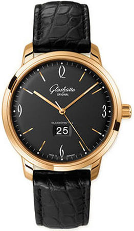 Glashutte Original 20th Century Vintage Sixties Panorama Date  Men's Watch 39-47-02-01-04