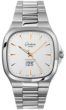 Glashutte Original 20th Century Vintage Seventies Panorama Date  Men's Watch 39-47-11-12-14
