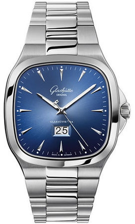 Glashutte Original 20th Century Vintage Seventies Panorama Date  Men's Watch 39-47-13-12-14