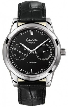 Glashutte Original Quintessentials Senator Hand Date  Men's Watch 39-58-01-02-04