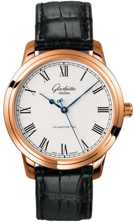 Glashutte Original Quintesssentials Senator Automatic  Men's Watch 39-59-01-05-04