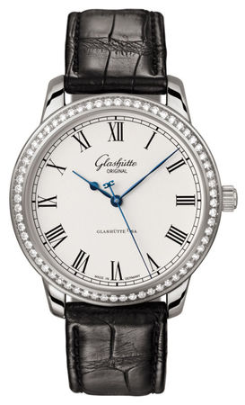 Glashutte Original Quintesssentials Senator Automatic  Men's Watch 39-59-01-12-04