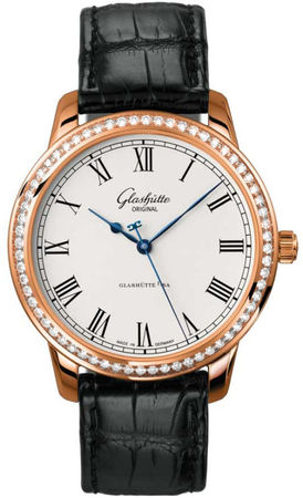 Glashutte Original Quintesssentials Senator Automatic  Men's Watch 39-59-01-15-04
