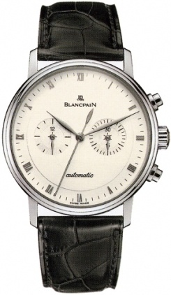 Blancpain Villeret Automatic Chronograph  Men's Watch 4082-1542-55B