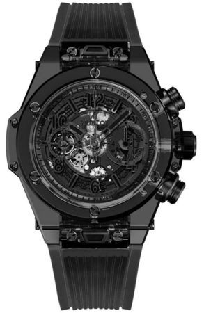 Hublot Big Bang Unico All Black Limited Edition Men's Watch 411.JB.4901.RT