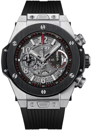 Hublot Big Bang UNICO Titanium Ceramic Skeleton 45mm Men's Watch 411.NM.1170.RX