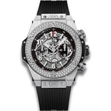 Hublot Big Bang UNICO Skeleton Dial Diamond Men's Watch 411.NX.1170.RX.1104