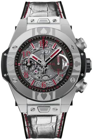 Hublot Big Bang UNICO Acier World Poke Men's Watch 411.SX.1170.LR.WPT15