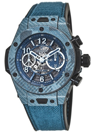 Hublot Big Bang Unico Italia Independent Blue Camo Limited Edition Men's Watch 411.YL.5190.NR.ITI16