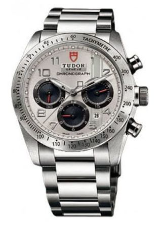 Tudor Fastrider Chronograph  Men's Watch 42000-95730SIL ARAB