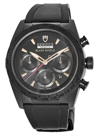 Tudor Fastrider Blackshield  Men's Watch 42000CN-BKRS