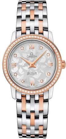 Omega De Ville Prestige Quartz 27.4mm  Women's Watch 424.25.27.60.52.001