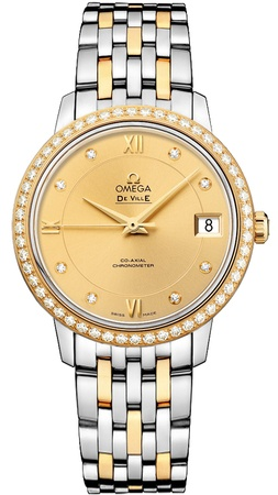 Omega De Ville Prestige Co-Axial 32.7mm  Women's Watch 424.25.33.20.58.001
